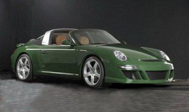Электрический спорткар eRUF Greenster