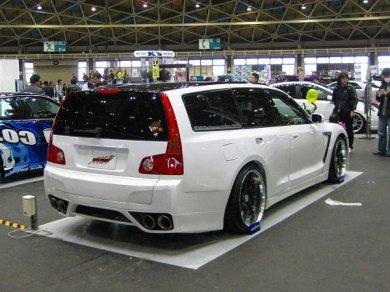 Японцы объединили Nissan GT-R и универсал Nissan M35 Stagea