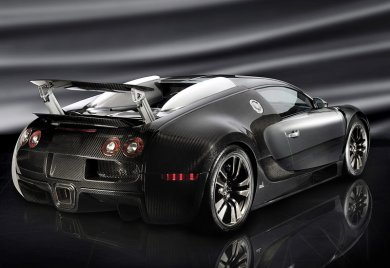 Суперкар Veyron Linea Vincero от ателье Mansory