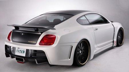 Роскошный ASI Bentley Continental Tetsu GTR
